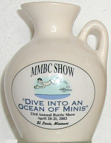 2002 Midwest Miniature Bottle Club Jug – Front side