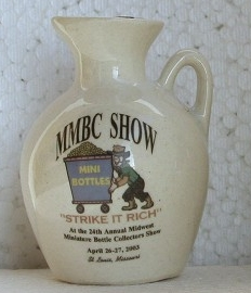 2003 Midwest Miniature Bottle Club Jug – Front side