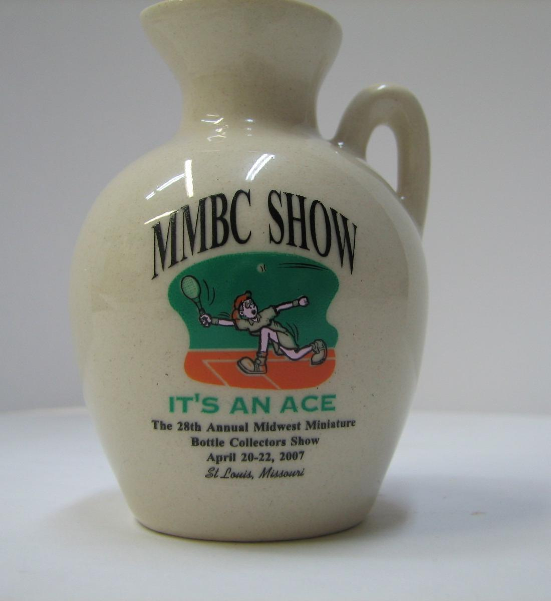 2007 Midwest Miniature Bottle Club Jug – Front side