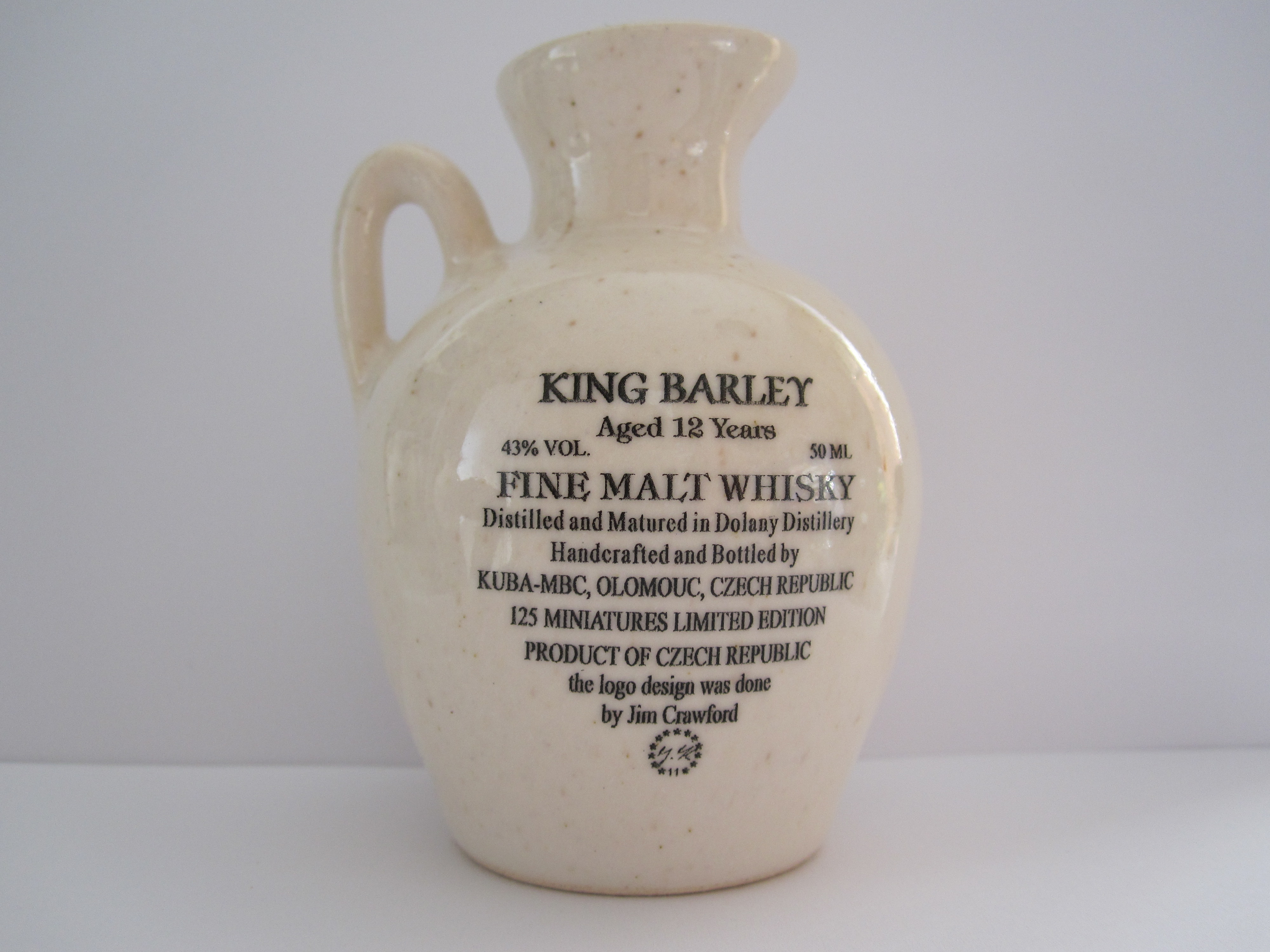 32th Anniversary Midwest Miniature Bottle Club Jug – Back side